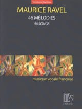 Maurice Ravel - 46 melodies. Aloud - Sheet Music - di-arezzo.com