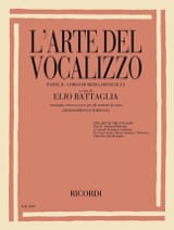 Elio Battaglia - The arte del vocalizzo. Part 2 - Sheet Music - di-arezzo.com