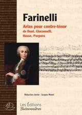 Farinelli Partition Opéras - laflutedepan.com