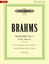 Concerto pour piano n° 2 op. 83 en si bémol majeur BRAHMS laflutedepan