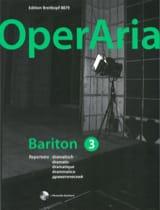 OperAria Baryton. Volume 3 (avec CD) Partition laflutedepan.com