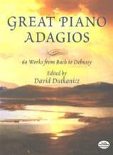 Great pianos adagios Partition Piano - laflutedepan.com