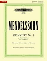 Concerto pour piano n° 1 op. 25 en sol mineur laflutedepan.com