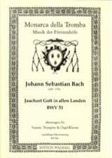 Jauchzet Gott in allen Landen Bwv 51 - laflutedepan.com