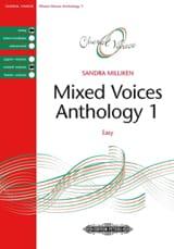 Sandra Milliken - Anthologie pour choeur mixte. Volume 1 - Partition - di-arezzo.fr