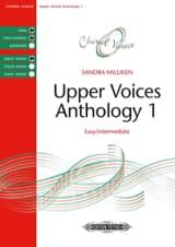 Sandra Milliken - Anthologie pour choeur à voix égales. Volume 1 - Partition - di-arezzo.fr