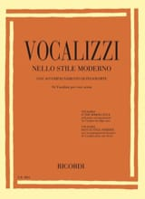 - Vocalises in the modern style. Aloud - Sheet Music - di-arezzo.com