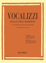 - Vocalises in the modern style. Deep voice - Sheet Music - di-arezzo.com