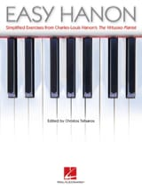 Easy Hanon HANON Partition Piano - laflutedepan