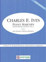 Charles Ives - Piano marches - Partition - di-arezzo.fr