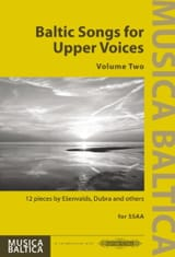 Baltic Songs for Upper Voices. Volume 2 - laflutedepan.com