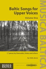 Baltic Songs for Upper Voices. Volume 1 - laflutedepan.com