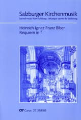 Requiem en fa mineur BIBER Partition Chœur - laflutedepan