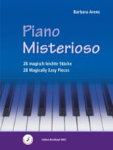 Piano Misterioso Barbara Arens Partition Piano - laflutedepan.com