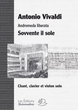VIVALDI - Sovvente it sole. Andromeda liberata - Sheet Music - di-arezzo.co.uk