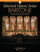Selected Operas Arias. Baryton Partition Recueils - laflutedepan.com