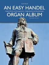 Georg-Friedrich Haendel - An Easy Haendel Organ Album - Partition - di-arezzo.fr