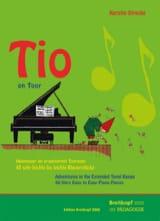Tio on Tour Kerstin Strecke Partition Piano - laflutedepan.com