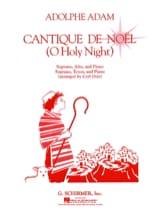 Cantique de Noel ADAM Partition Duos - laflutedepan