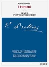 Vincenzo Bellini - I puritani. Edition critique - Partition - di-arezzo.fr