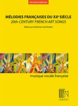 Mélodies françaises au XXème siècle. Voix haute laflutedepan.com