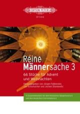 Reine Männersache 3 Partition Chœur - laflutedepan.com