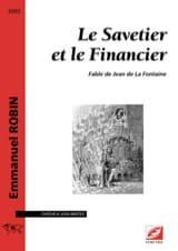 Le savetier et le financier Emmanuel Robin Partition laflutedepan.com