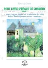 Petit Livre d'orgue de Cormery. Volume 1 - laflutedepan.com