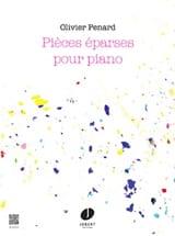Pièces éparses op. 32 Olivier Penard Partition laflutedepan.com