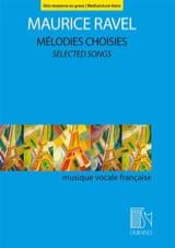 Mélodies choisies. Voix moyenne ou grave laflutedepan.com