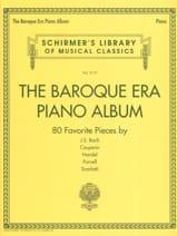 The Baroque Era piano album Partition Piano - laflutedepan.com