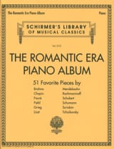 The romantic era piano album - Partition - laflutedepan.com