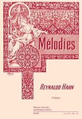 Mélodies Volume 3 Reynaldo Hahn Partition Mélodies - laflutedepan.com