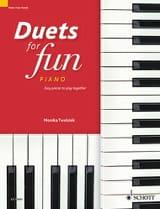 Duets for fun pour Piano 4 mains - Partition - laflutedepan.com