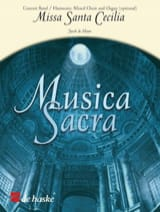 Missa Sancta Cecilia Jacob De Haan Partition Chœur - laflutedepan.com