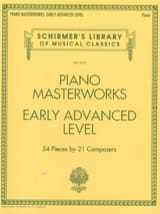 Piano Masterworks. Early advanced level Partition laflutedepan.com