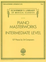 Piano Masterworks. Intermediate level Partition laflutedepan.com