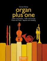 Carsten Klomp - Organ Plus one. Baptisms and marriage - Sheet Music - di-arezzo.co.uk