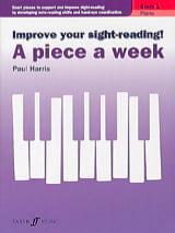A piece a week. Volume 1 Paul Harris Partition Piano - laflutedepan