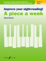 A piece a week. Volume 2 Paul Harris Partition Piano - laflutedepan