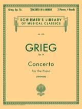 Concerto pour piano la mineur Opus 16 Edward Grieg laflutedepan.com