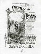 Le Credo Du Paysan N° 1 Baryton Gustave Goublier laflutedepan.com