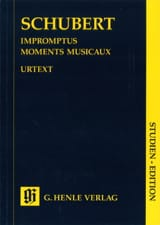 Impromptus / Moments Musicaux. SCHUBERT Partition laflutedepan.com