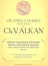 3 Grandes Etudes Opus 76-2 Charles-Valentin Alkan laflutedepan.com