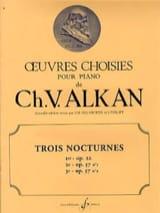 Charles Henri Valentin Aîné Alkan - 3 Nocturnes - Partition - di-arezzo.fr