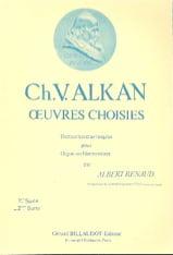 Oeuvres Choisies Volume 2 ALKAN Partition Orgue - laflutedepan