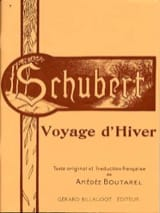 SCHUBERT - Winter travel. Aloud - Sheet Music - di-arezzo.co.uk