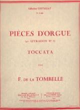 Toccata Op. 23 Fernand de la Tombelle Partition Orgue - laflutedepan