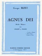 Agnus Dei. Voix Moyenne BIZET Partition Mélodies - laflutedepan.com