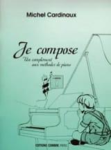 Je Compose - Cahier 1 - Michel Cardinaux Partition laflutedepan.com